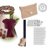 How to wear burgundy