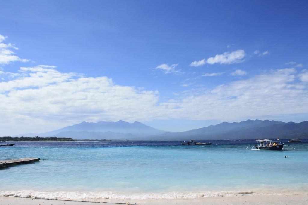 Apus de soare in Gili Island