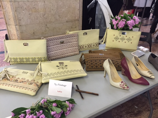Stand Iutta V for Vintage