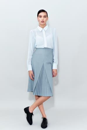 Midi Pleated Skirt_small