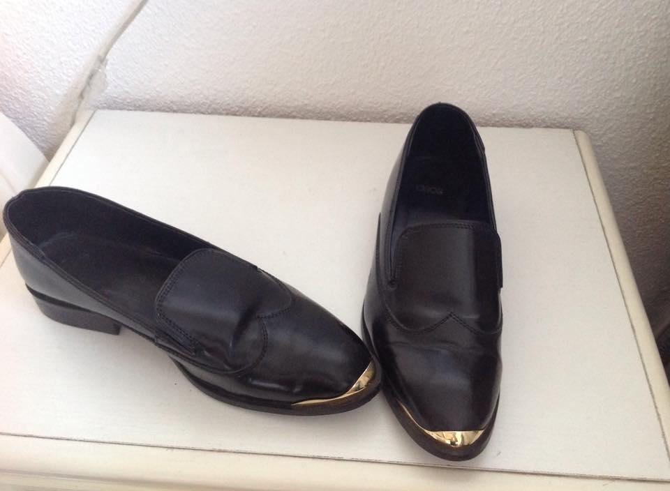 Pantofi piele asos, 40, 90 lei