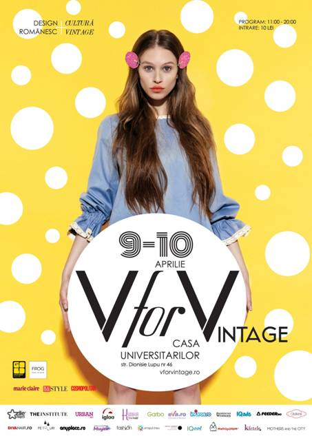 V FOR VINTAGE #16 – DESIGN ROMANESC CONTEMPORAN SI CULTURA VINTAGE