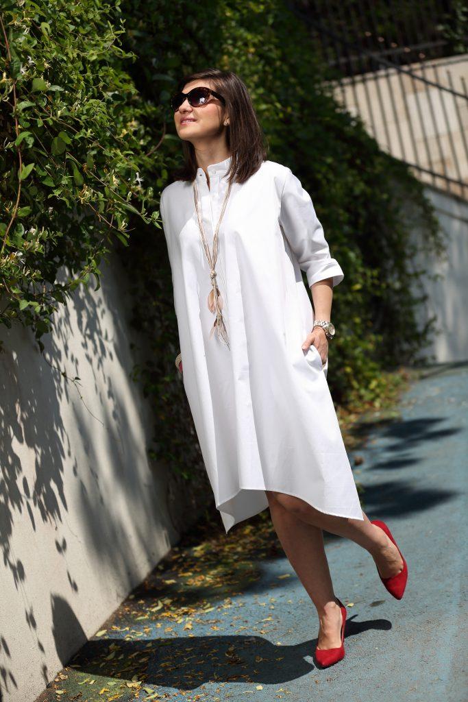 rochie albă
