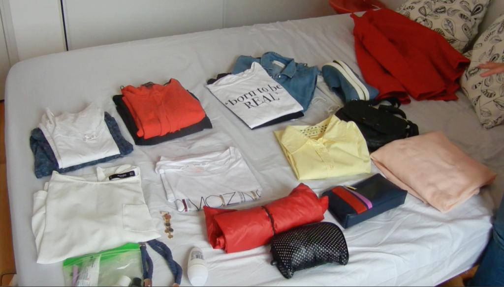 Cum să îți faci bagajul pentru o vacanță de 3 zile