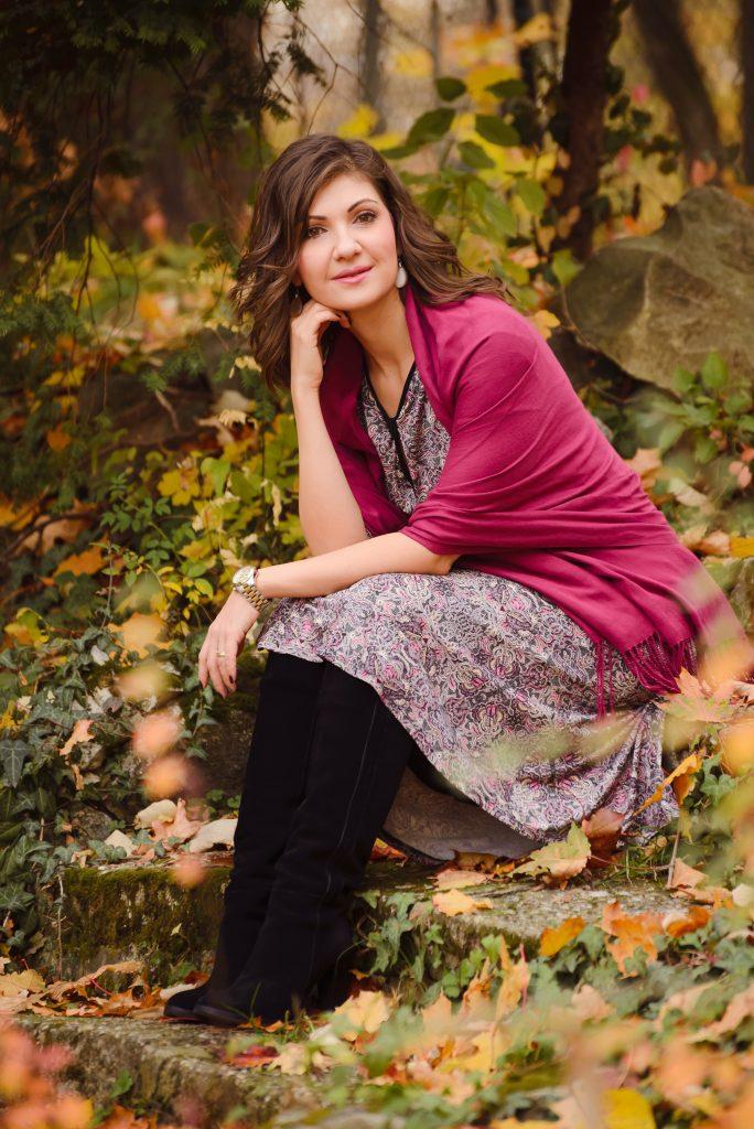 Rochia imprimată - ideală pentru toamnă
