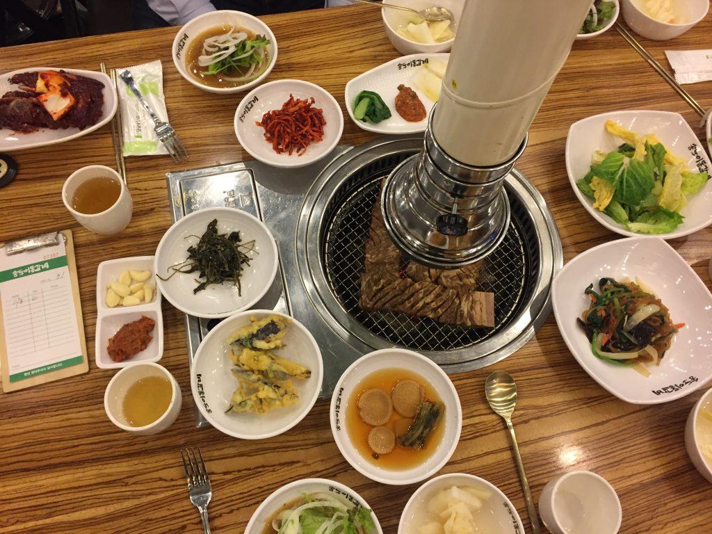 Mancarea in Coreea de Sud