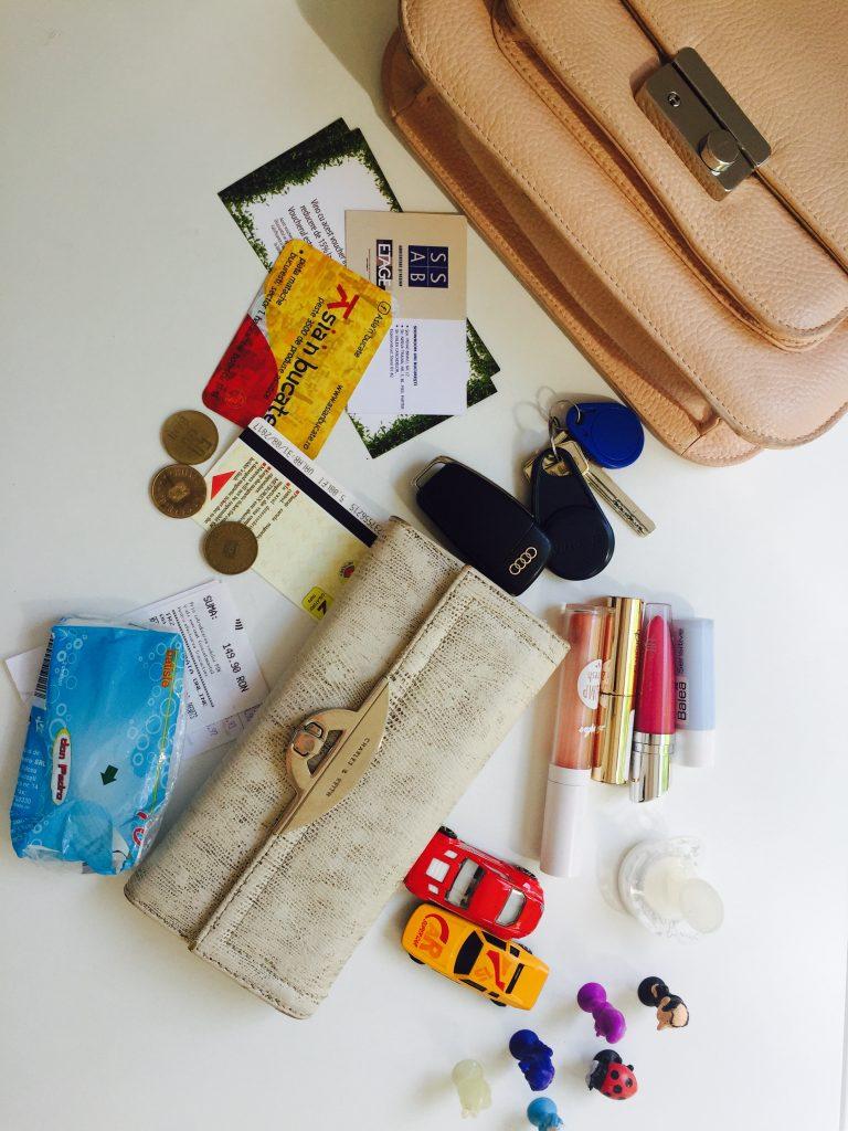Ce are o mamă în geantă