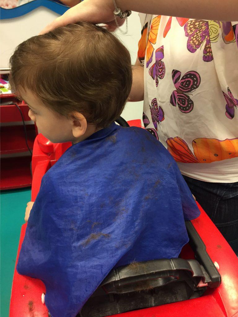 frizerii pentru copii