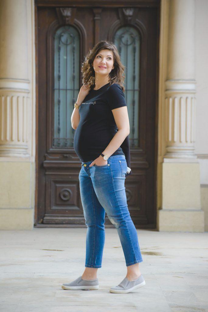 Haine gravide - jeansi