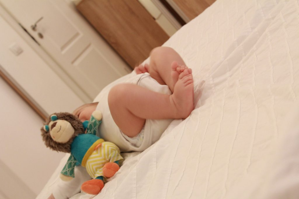 3 luni și un pic de bebelușeală