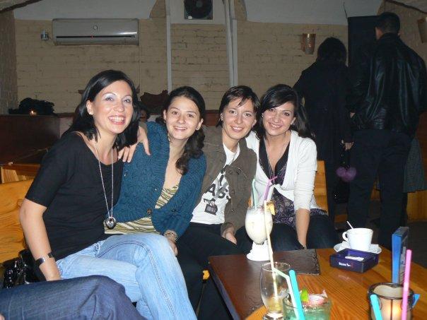 Eu și verișoarele mele acum 10 ani