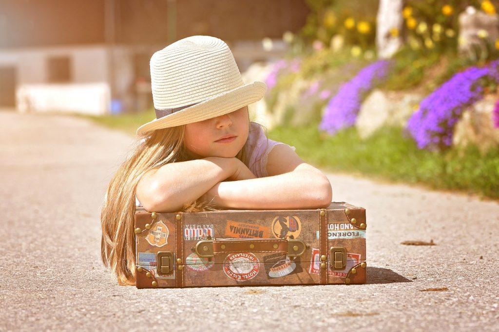 Bagajul de vacanță pentru 2 copii